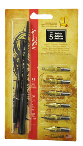 No 5 Artists Pen Set