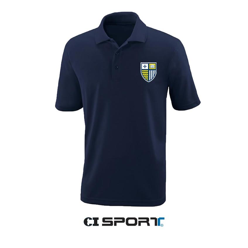 Navy Core Polo