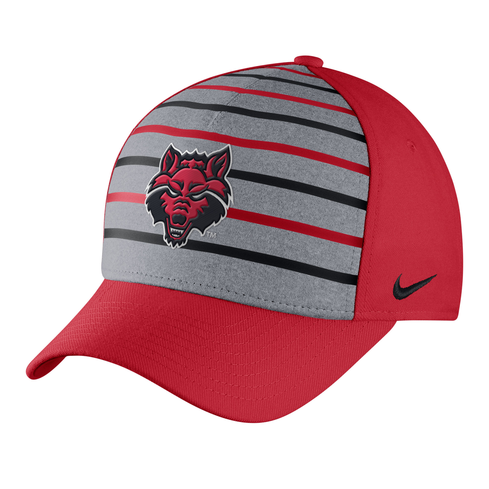 Red Wolves Flex 99 Stripe Cap