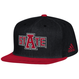 Arkansas State Player Flat Brim Snapback