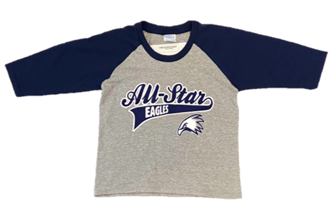 Youth Eagles All-Star Baseball Tee