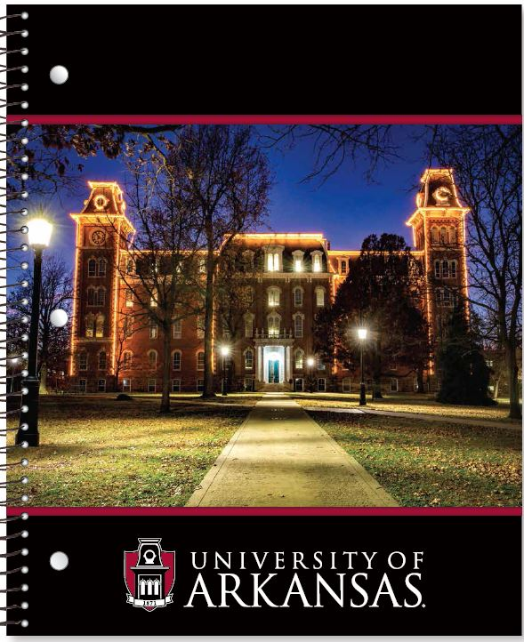 Old Main One Subject Notebook