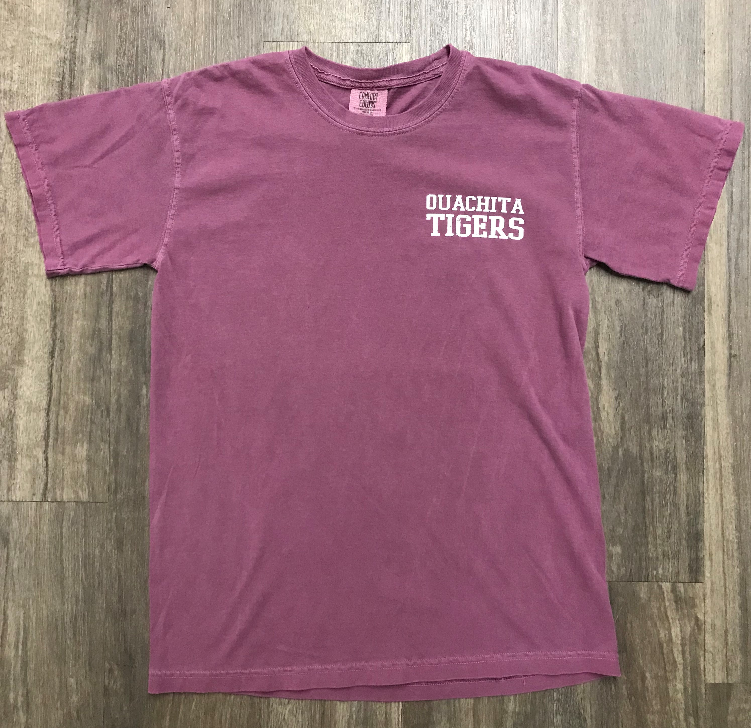 OUACHITA TIGERS SS COMFORT COLOR TEE