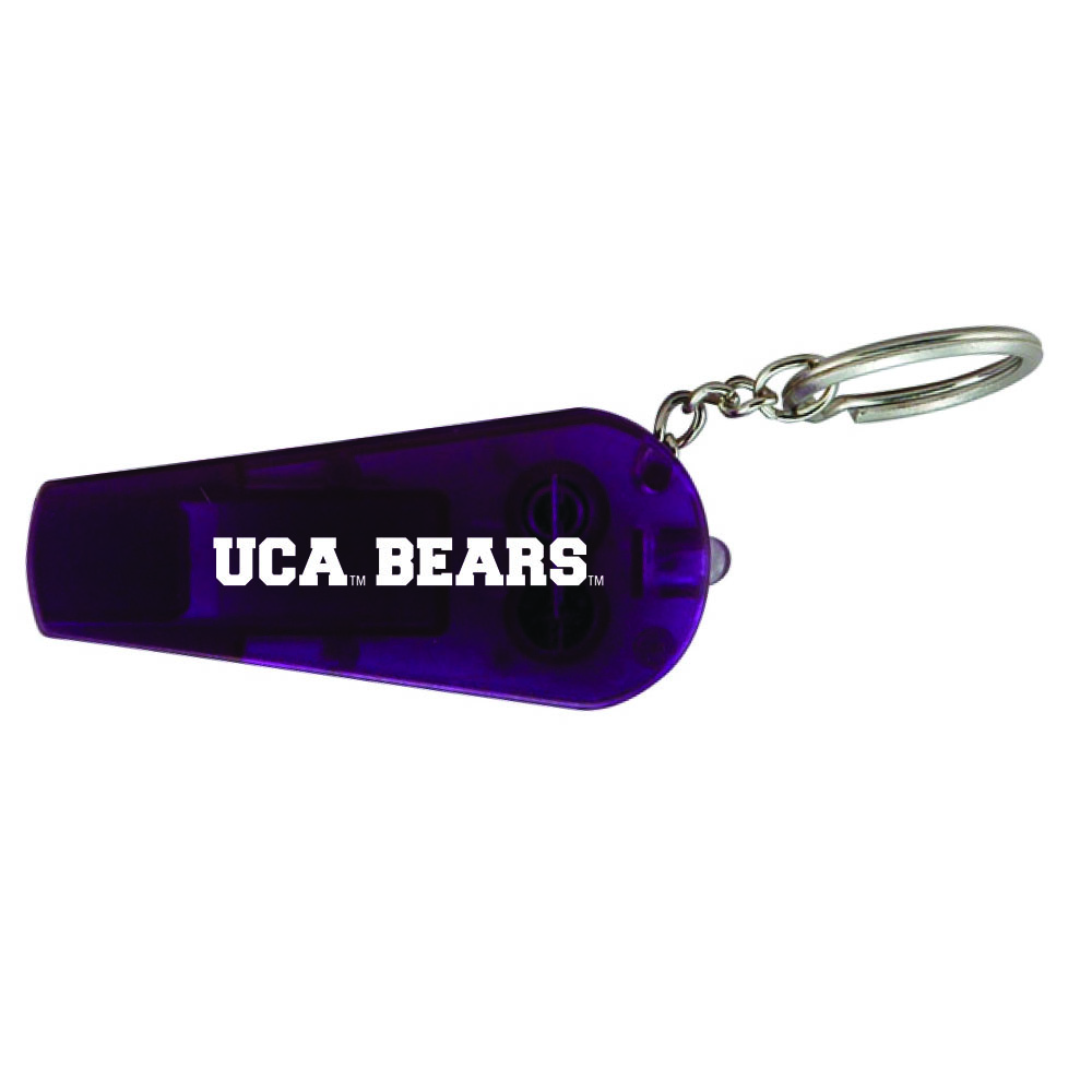 Purple Light Up Whistle