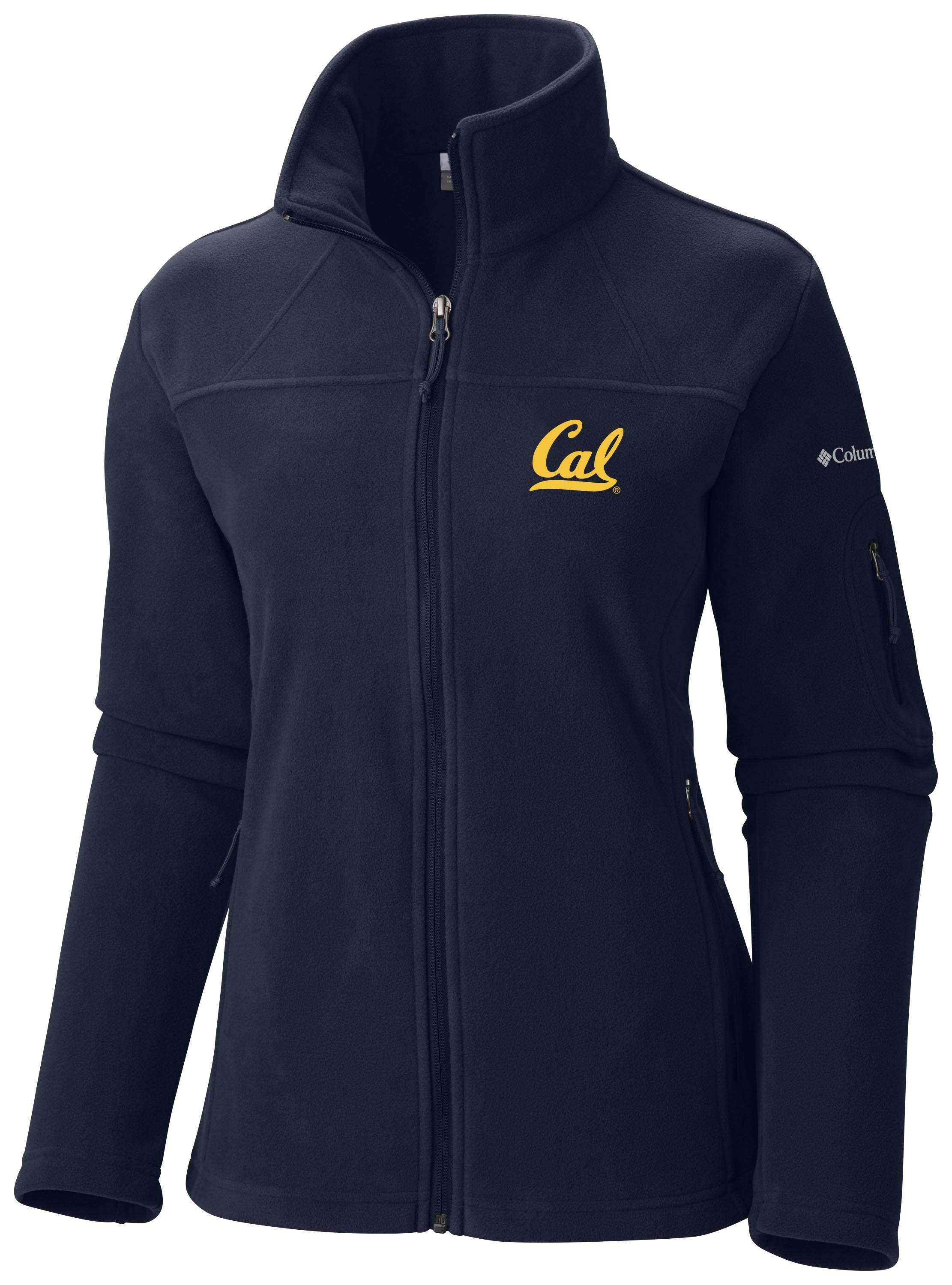 Cal Bears Columbia Women's Give and Go Full Zip