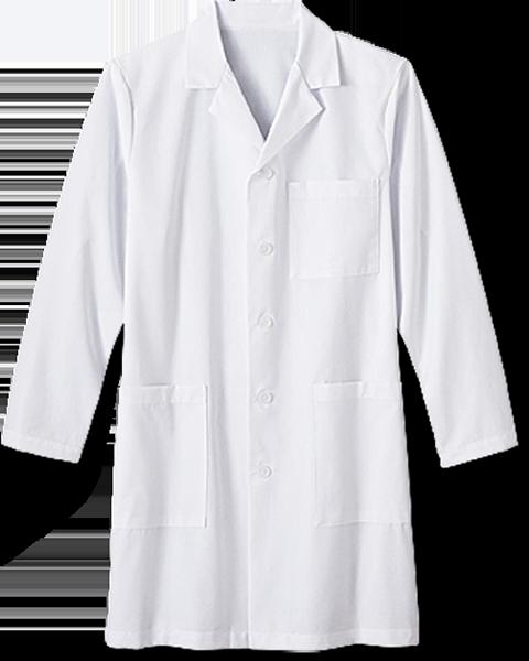 M White 3 Pocket Lab Coat