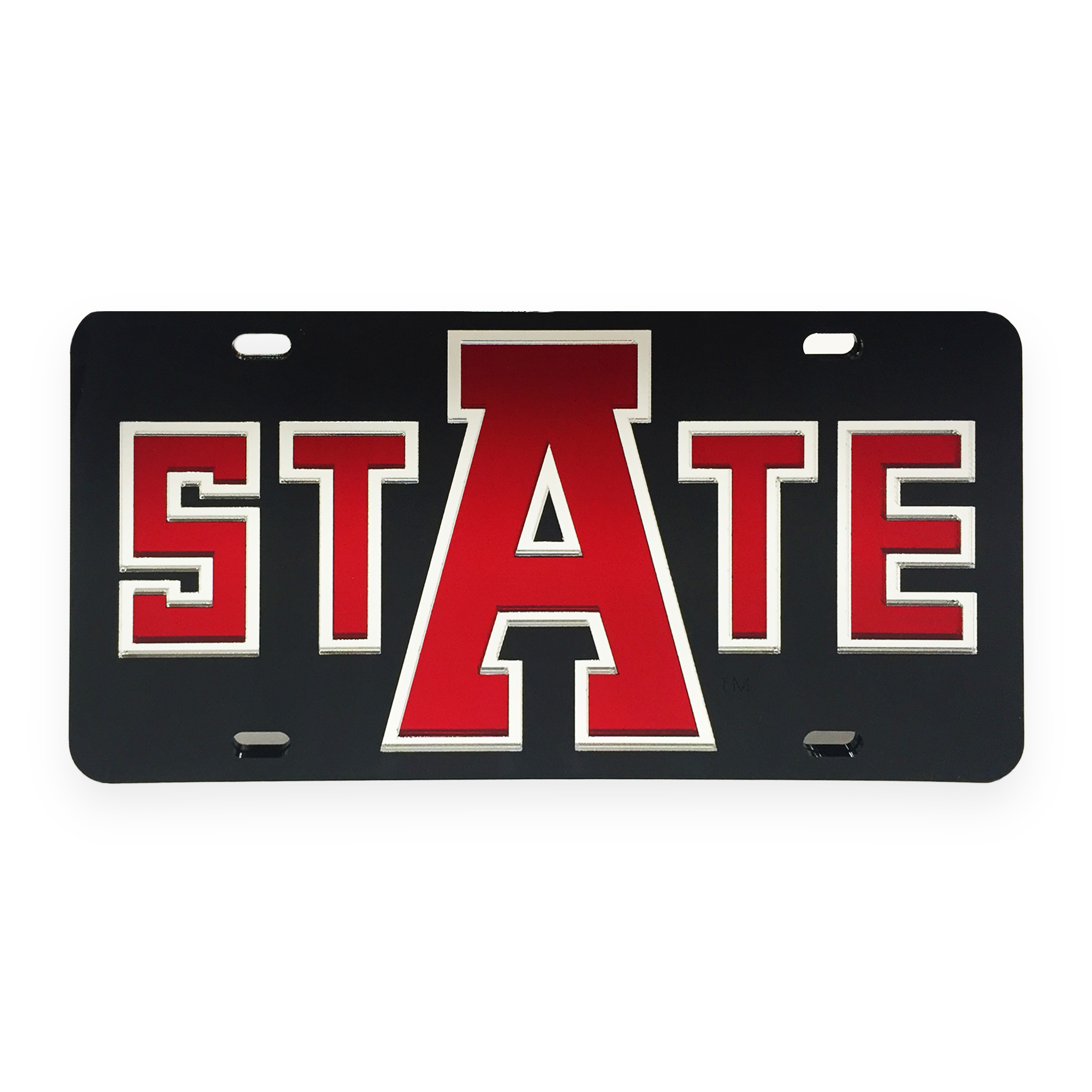 Arkansas State Mirrored License Plate