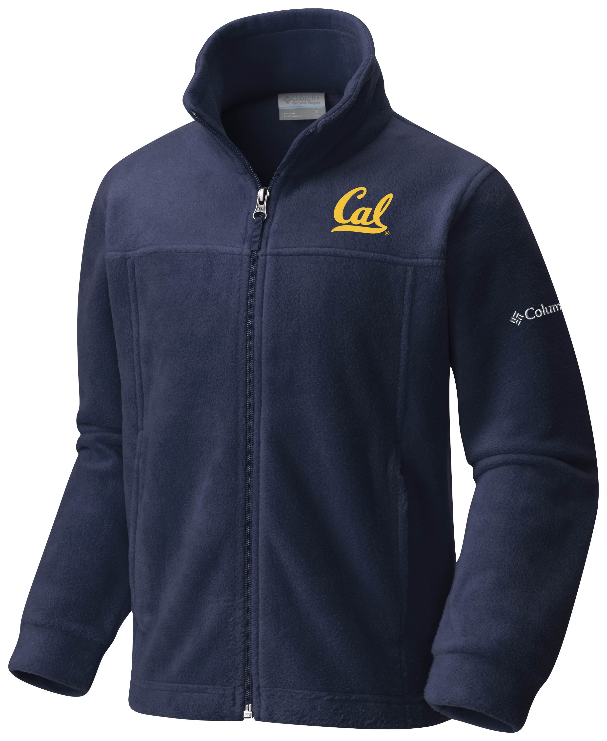 Cal Bears Columbia Youth Flanker Full Zip