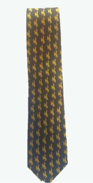 Brown & Gold Tie