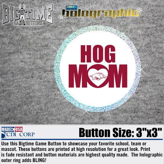 Button Hog Mom