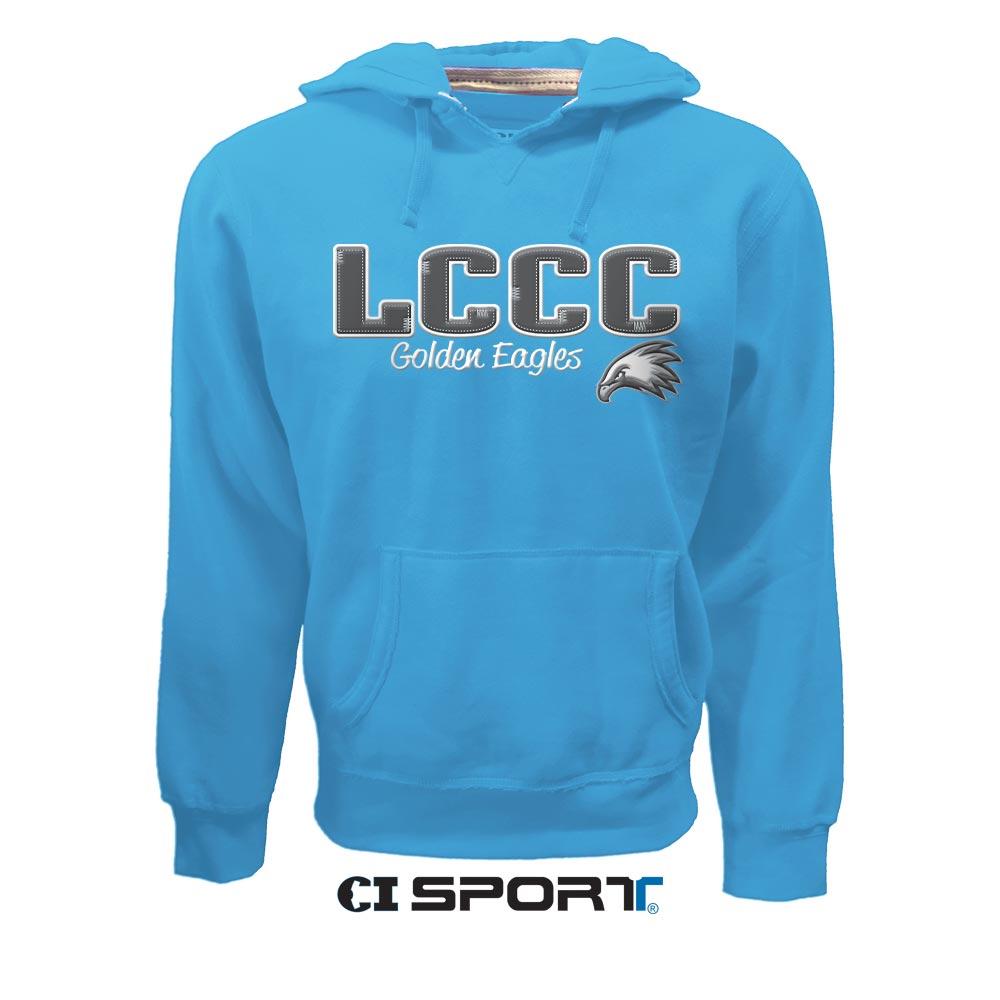 Ladies LCCC V-Notch Hoodie