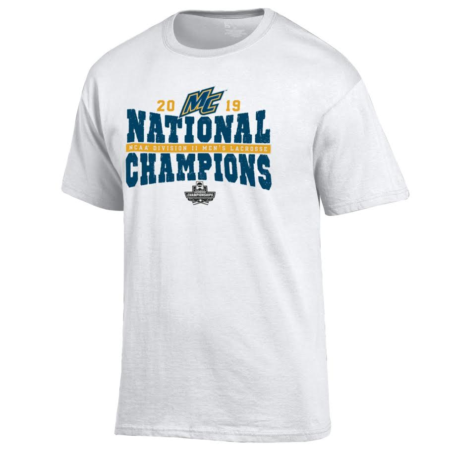 Lacrosse 2019 National Champion Tee