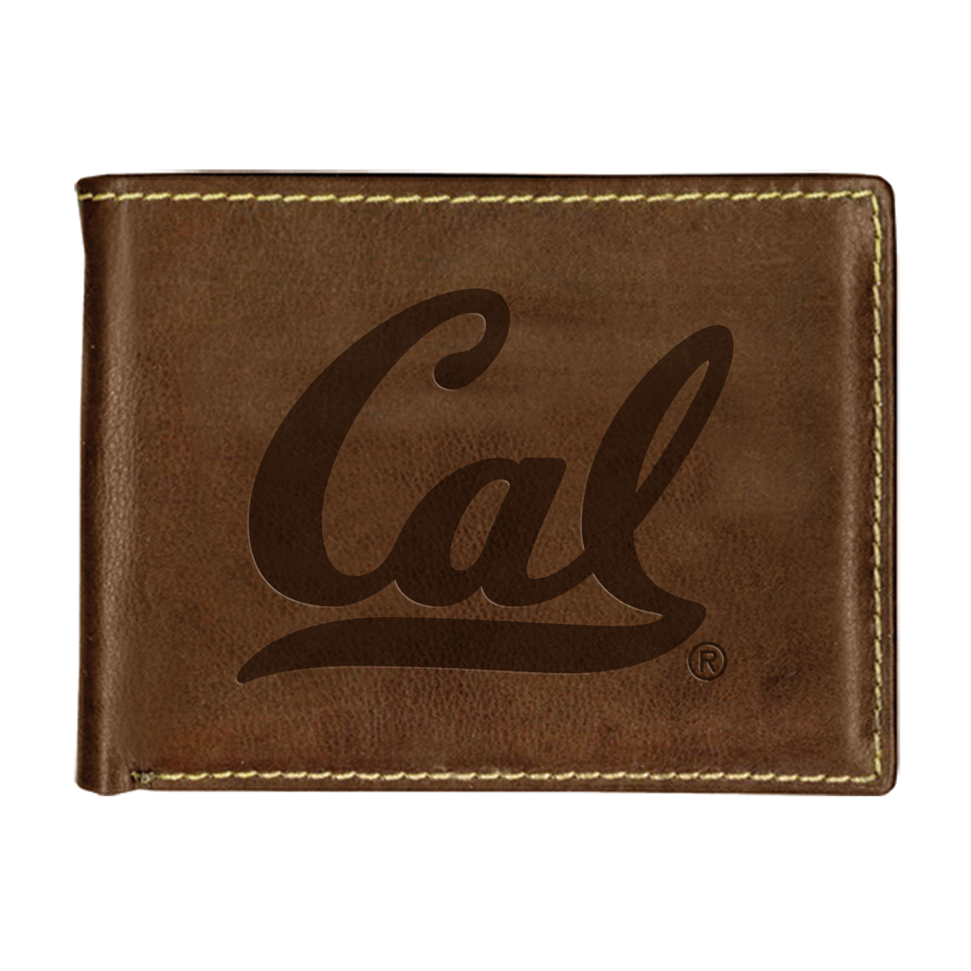 "University of California Berkeley Carolina Sewn Stitch Billfold ""Cal"""