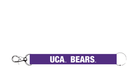 UCA Purple Key Strap