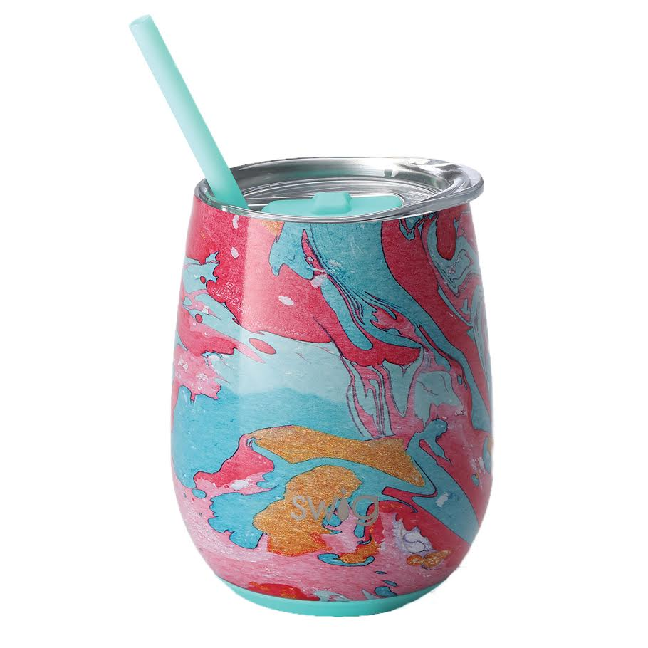 Cotton Candy Stemless Wine Tumbler