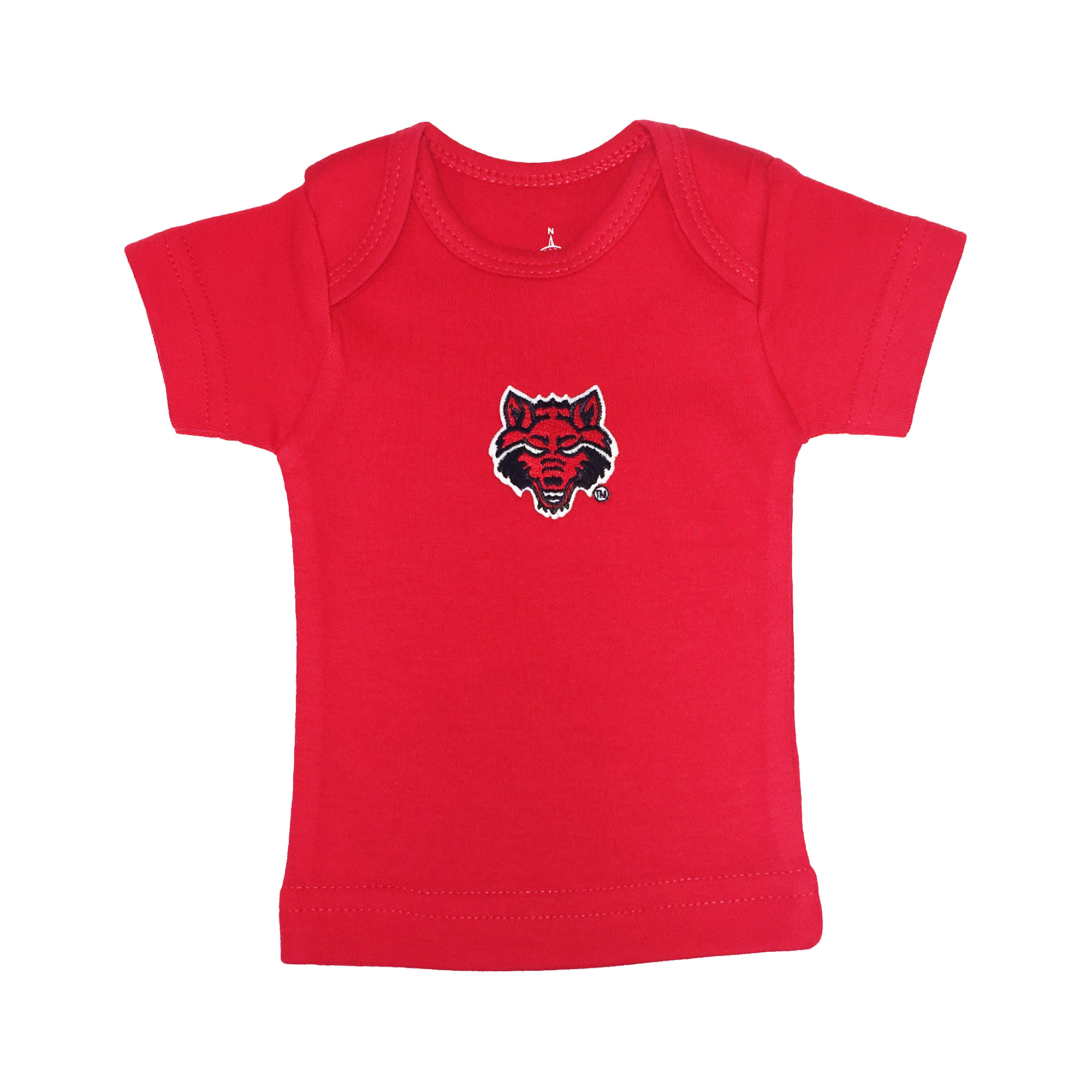 Red Wolves Lap Shoulder T Shirt