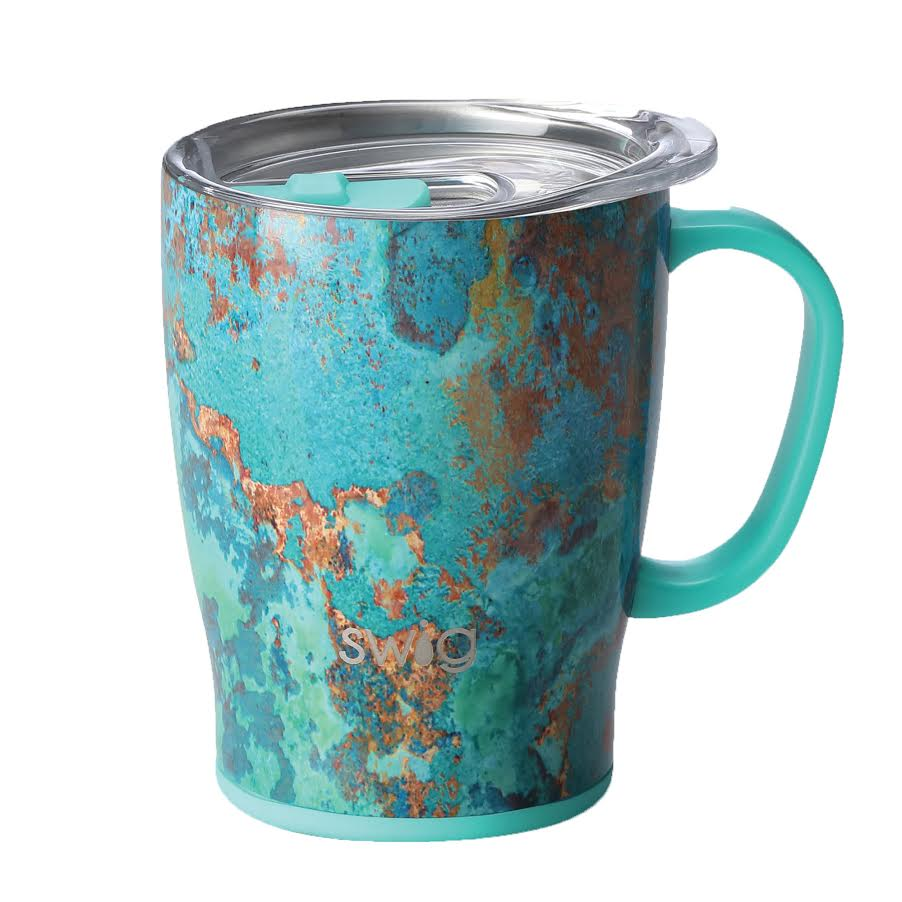 Copper Patina Mug