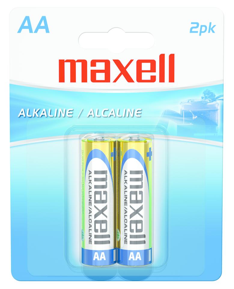 Maxell Alkaline Batteries AA