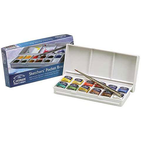 Cotman Sketchers Watercolour Pocket Box