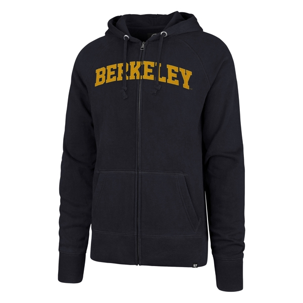 Cal Bears Men's Ovation '47 Headline Full Zip Raglan Hood