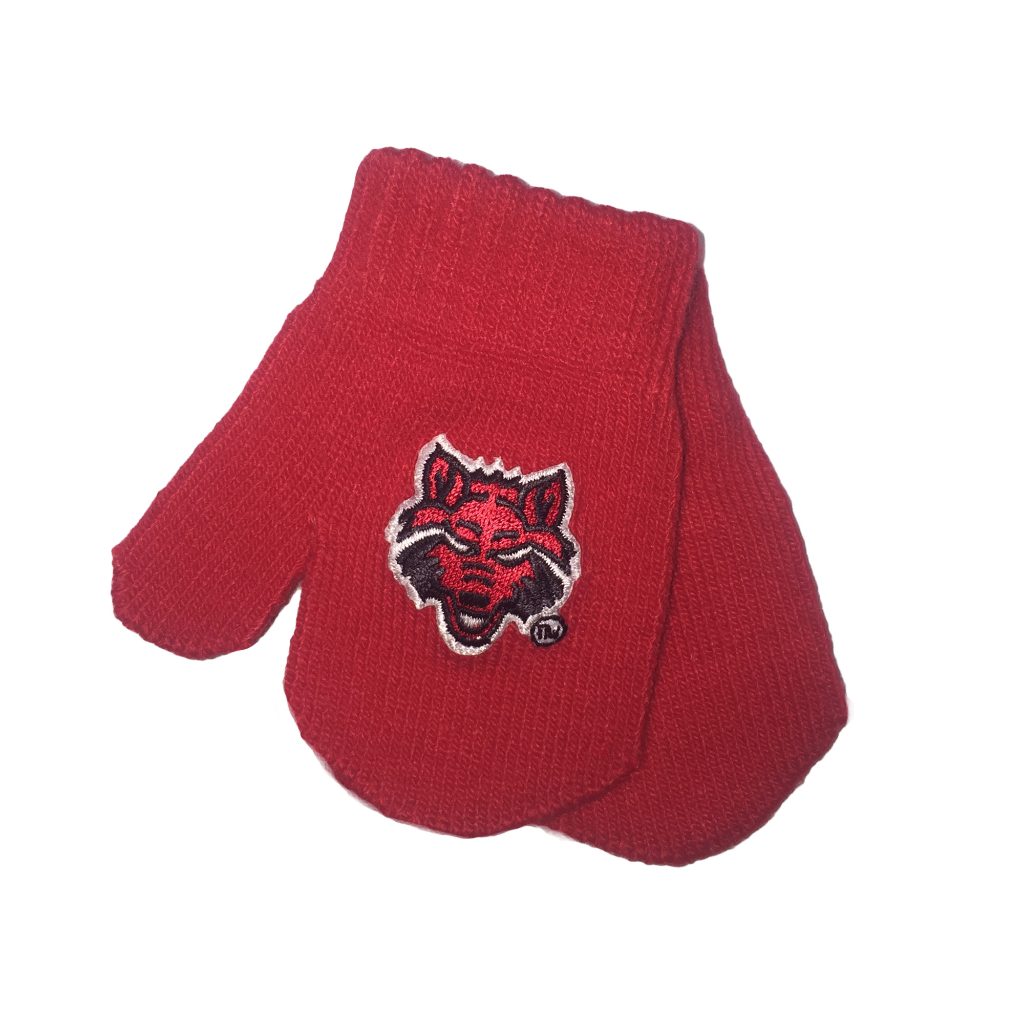Red Wolves Infant Mitten