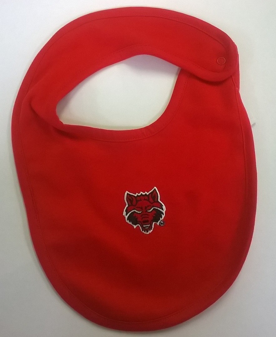 Red Wolves Bib