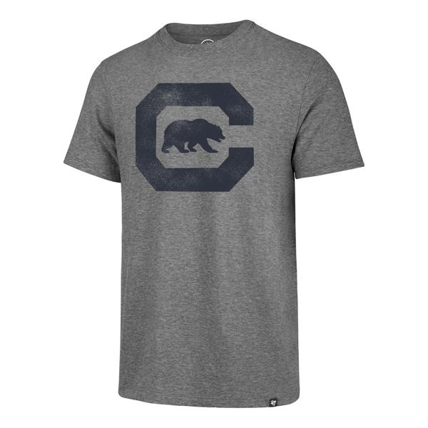 Cal Bears Men's Distressed Imprint '47 Match Tee C-Bear