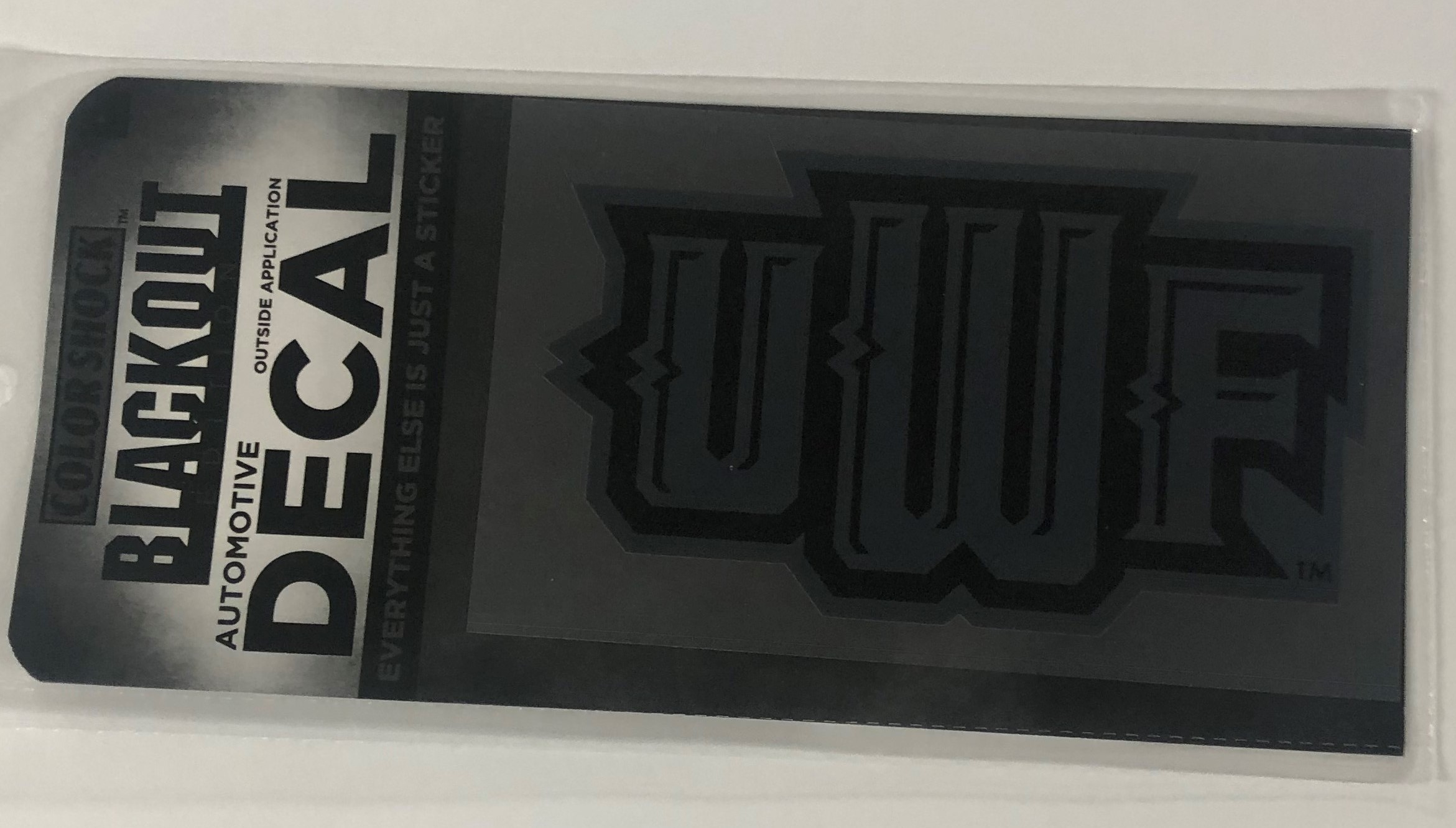 BLACK-OUT DECAL