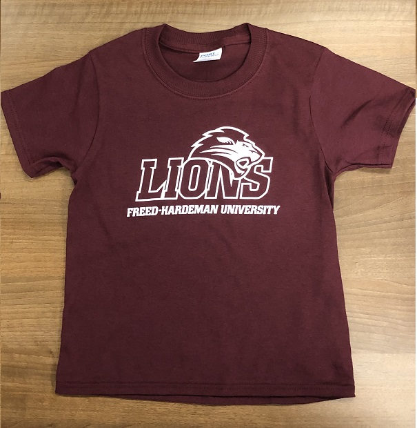 Youth Lions Logo Tee
