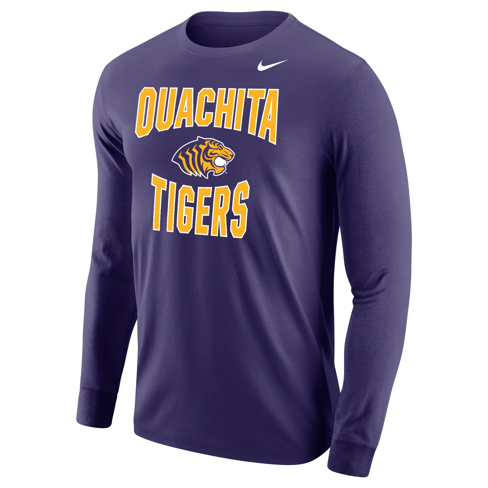 OUACHITA TIGERS NIKE CORE LS TEE