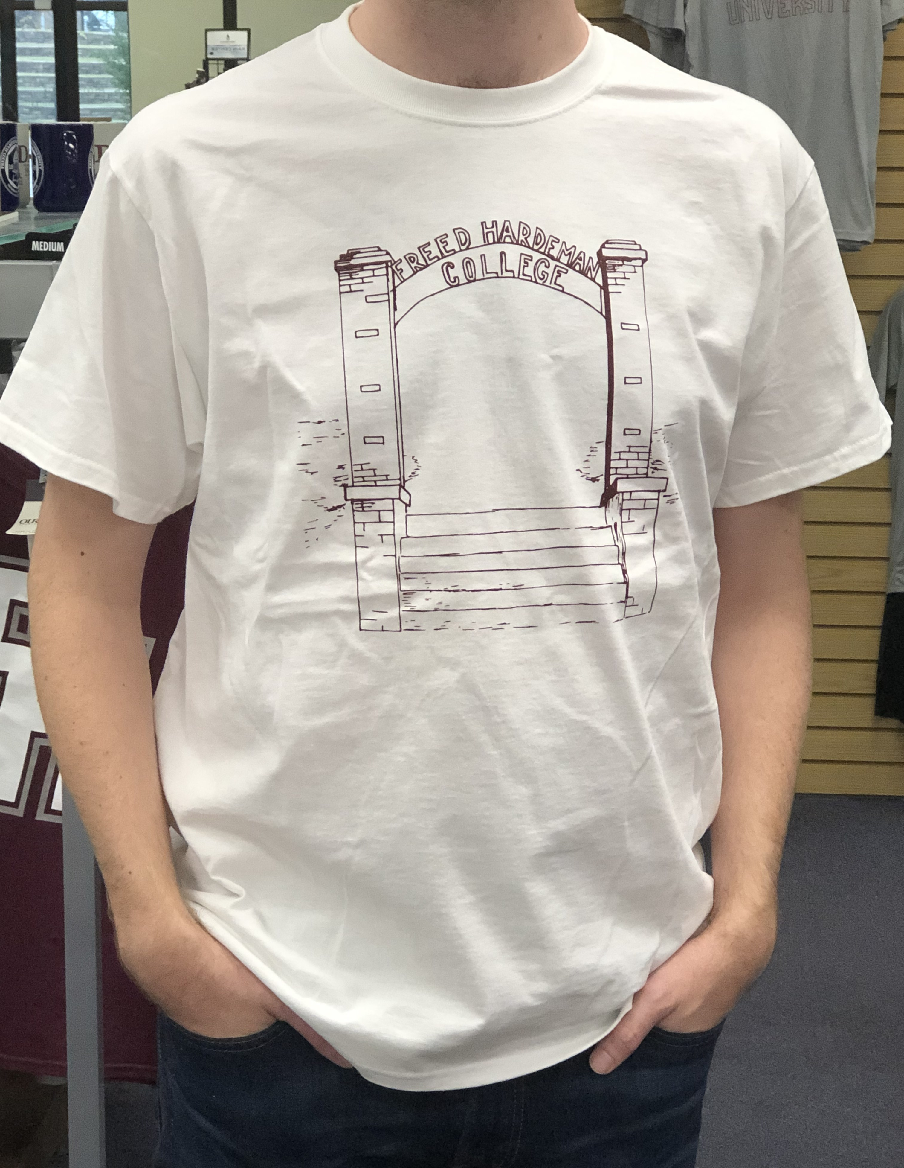 Vintage FHU Collection - Old Main Arch Tee