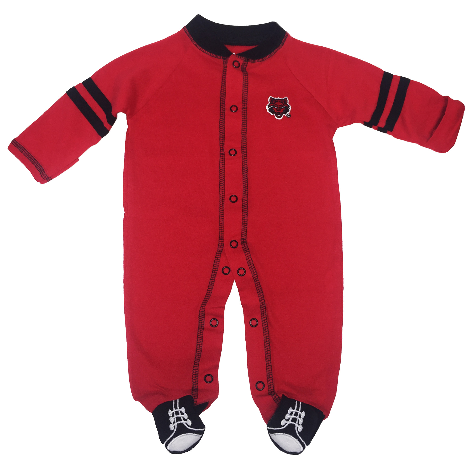 Red Wolves Sport Shoe Romper