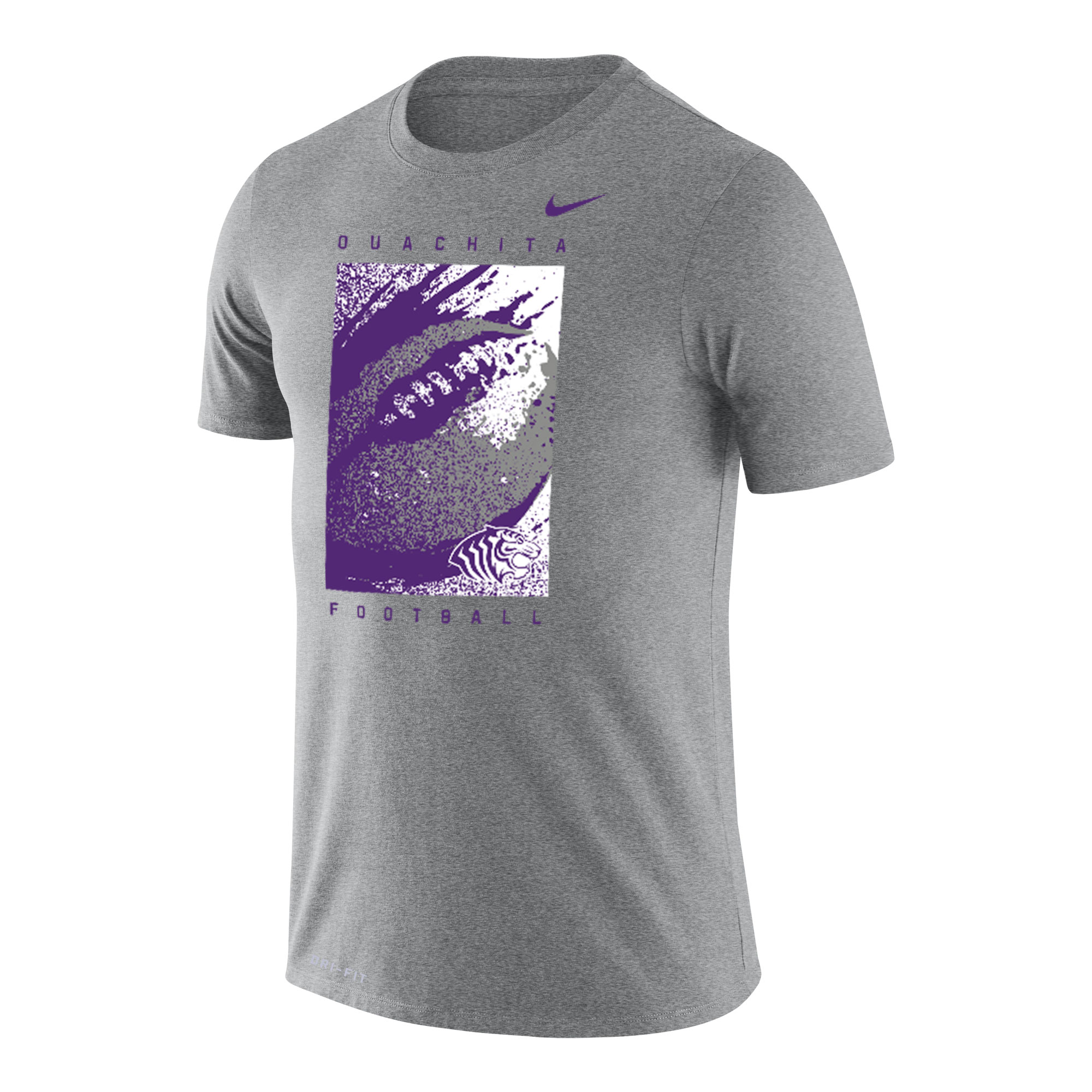 OUACHITA FOOTBALL NIKE DRI-FIT SS TEE