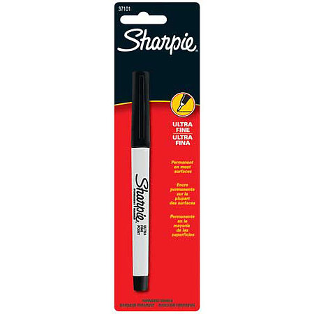 Sharpie Permanent Marker Ultra Fine Black