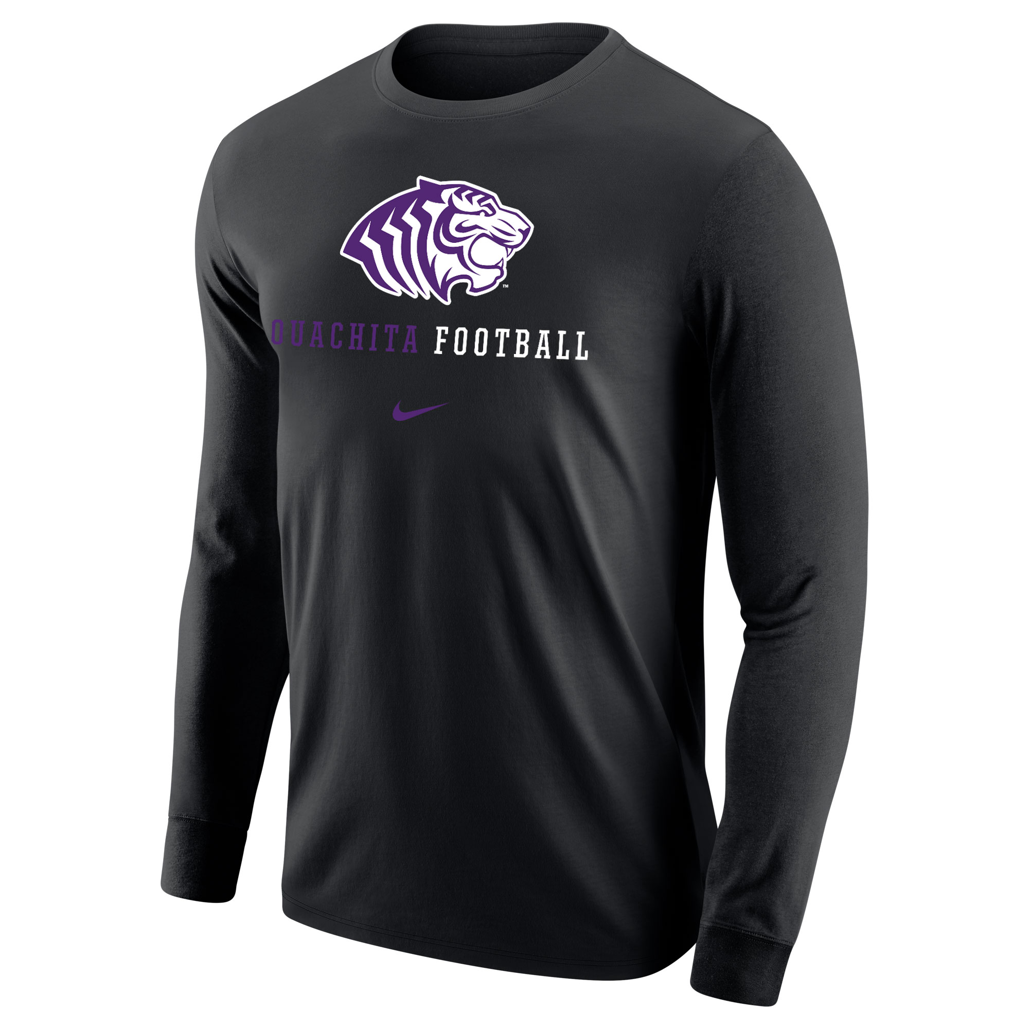 OUACHITA FOOTBALL NIKE CORE LS TEE