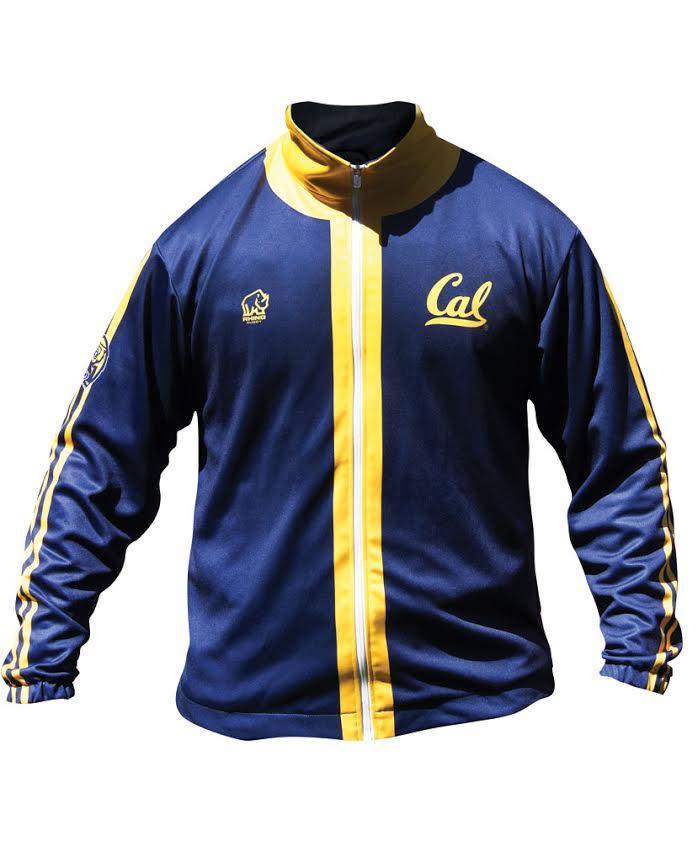 University of California Berkeley Rhino Rugby CAL Track Jacket