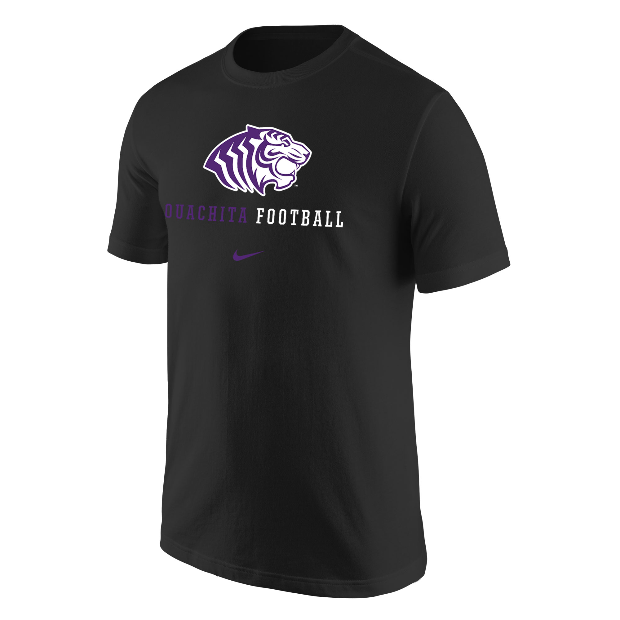 OUACHITA FOOTBALL NIKE CORE SS TEE