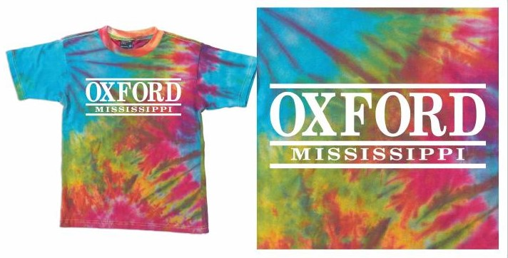 Oxford MS Tie Dye Tee