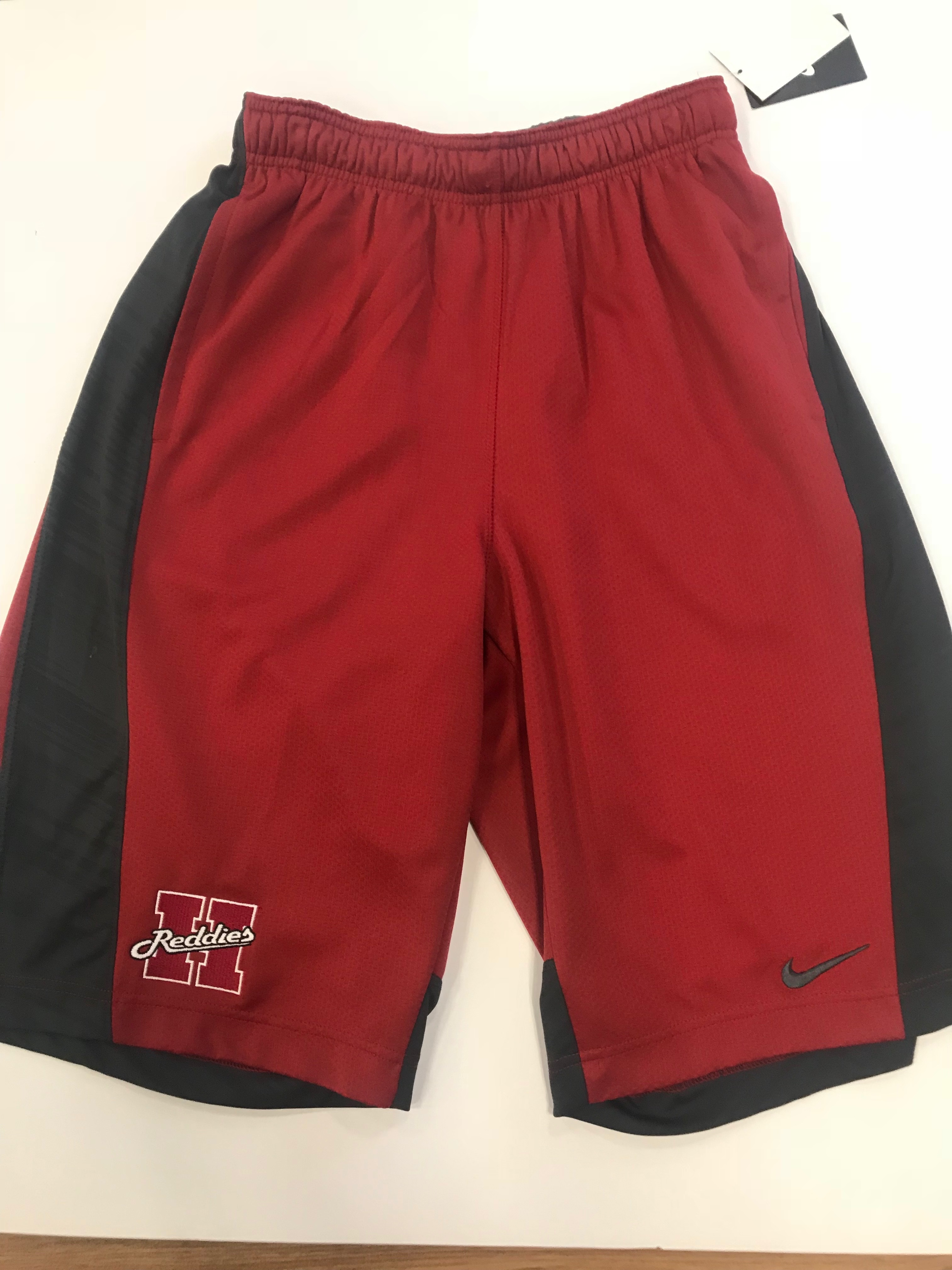 REDDIES RED AND GRAY MENS SHORTS