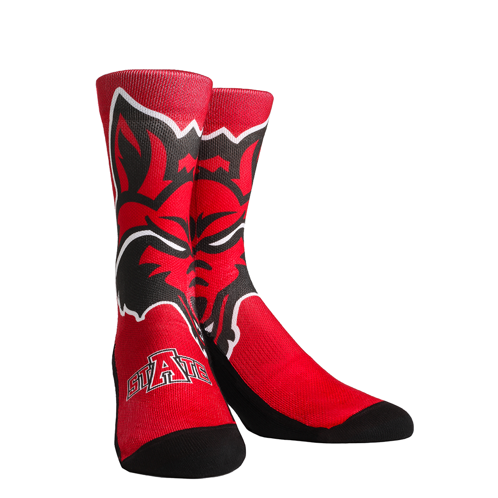 Arkansas State Mascot Socks