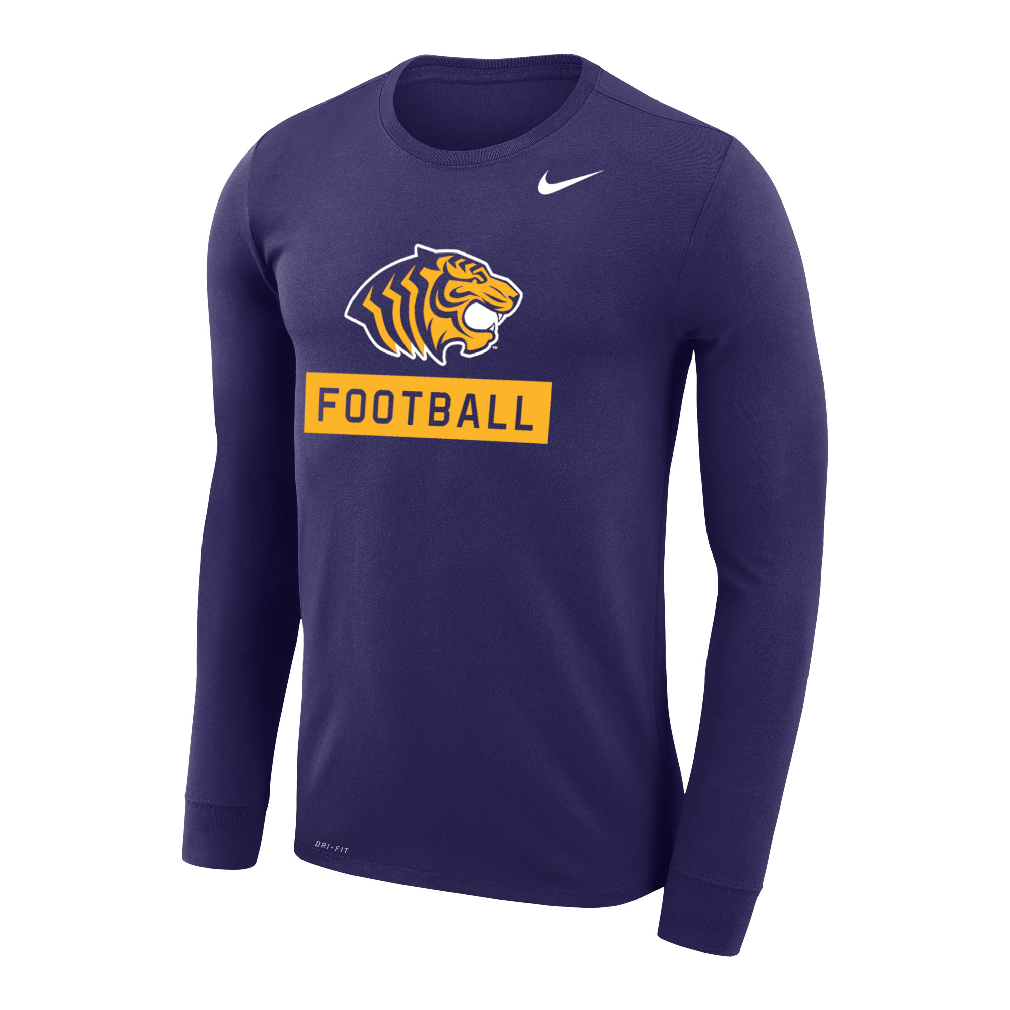TIGER FOOTBALL NIKE LEGEND LS TEE