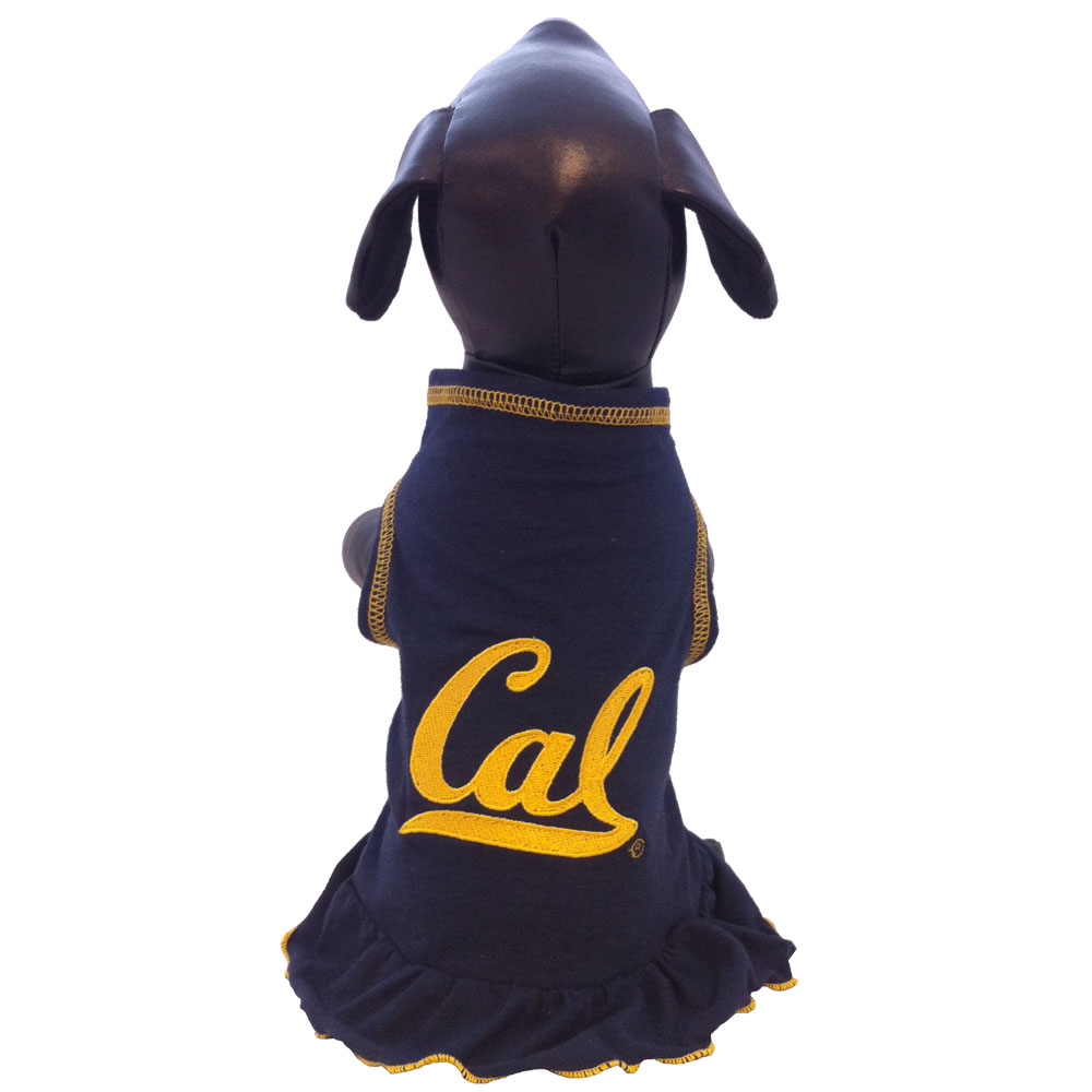 Pet Cheerleader Dress Cal Logo