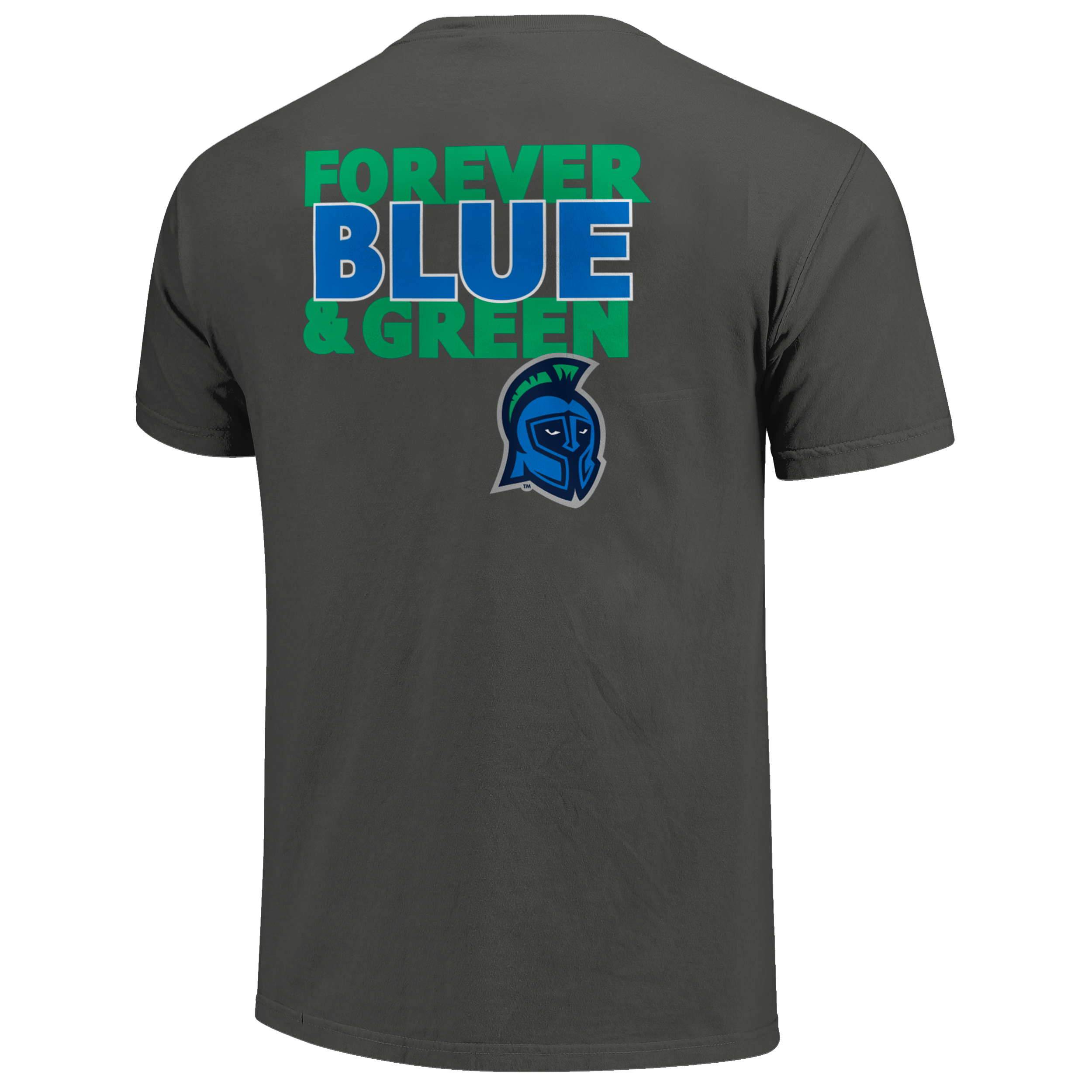 FOREVER BLUE AND GREEN ALUMNI TEE
