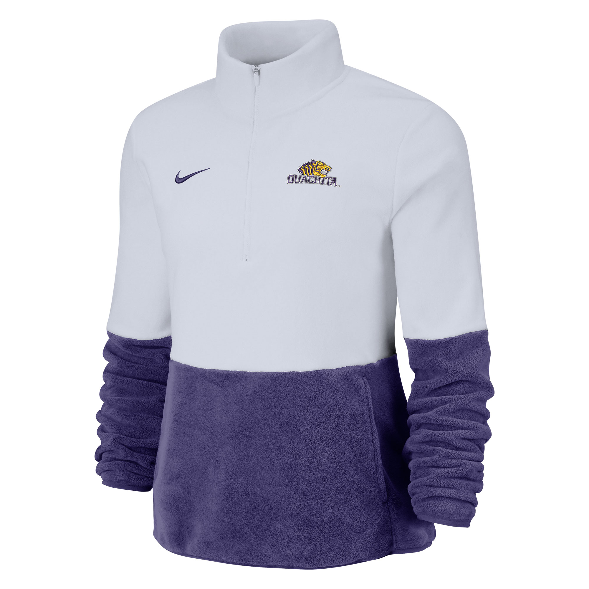 NIKE WOMEN'S MICRO FLEECE 1/2 ZIP PULLOVER