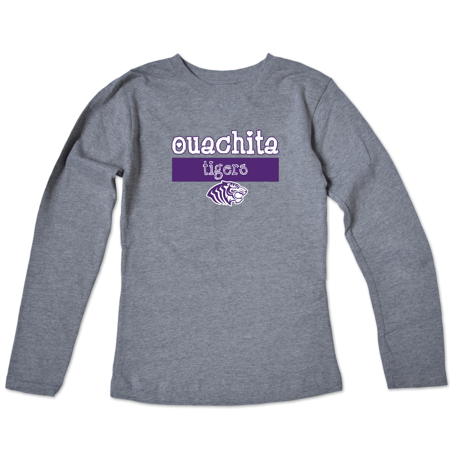 OUACHITA TIGERS YOUTH GIRLS LS TEE