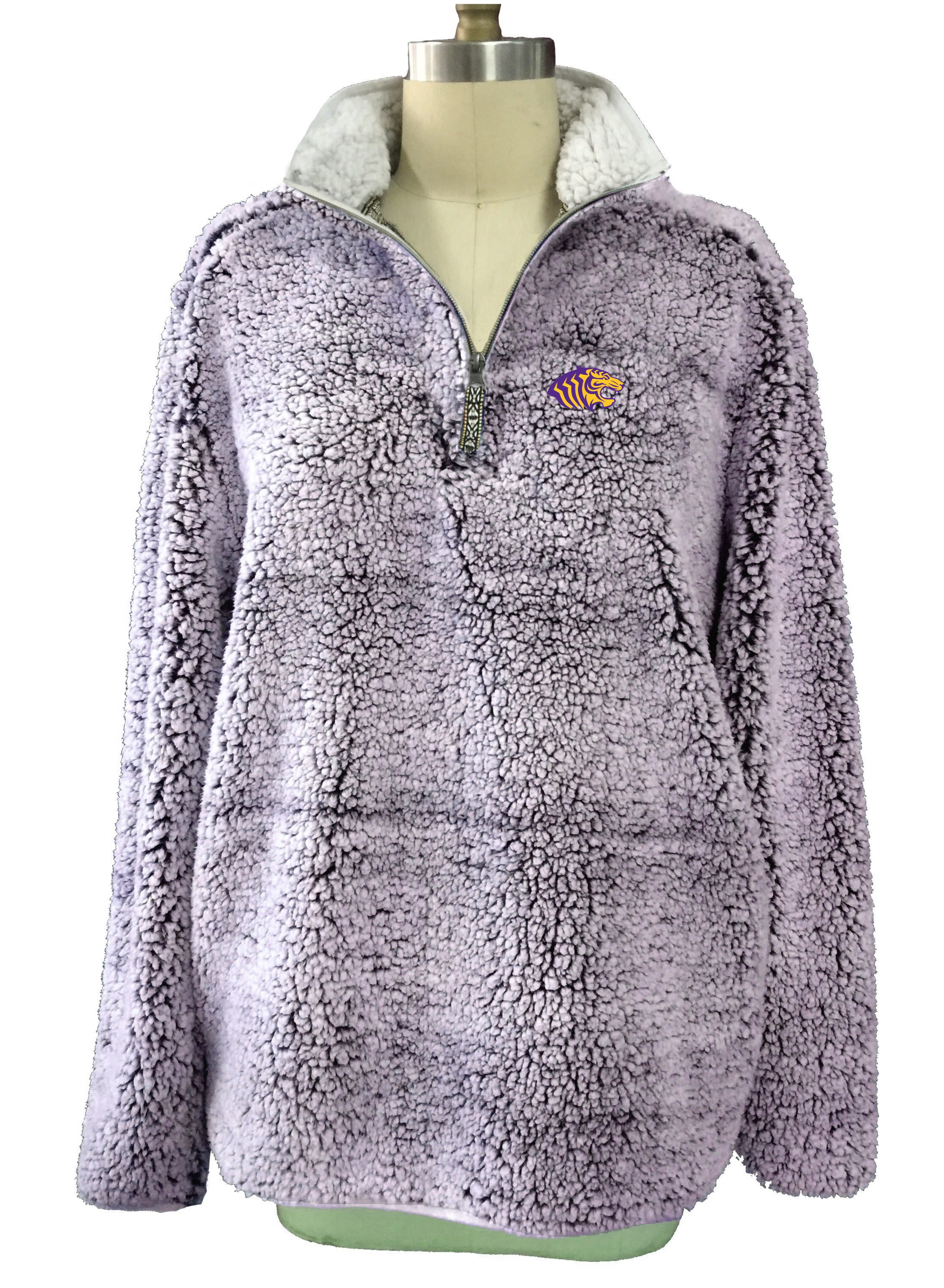 OUACHITA SHERPA HEATHERED 1/2 ZIP PULLOVER