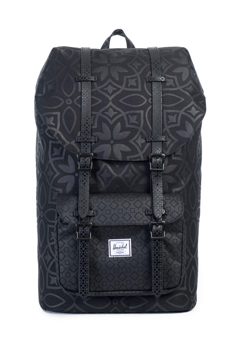 Little America Backpack Black Khatam