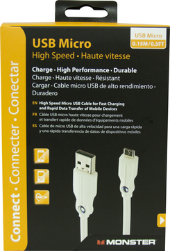 High Performance Charge Cable