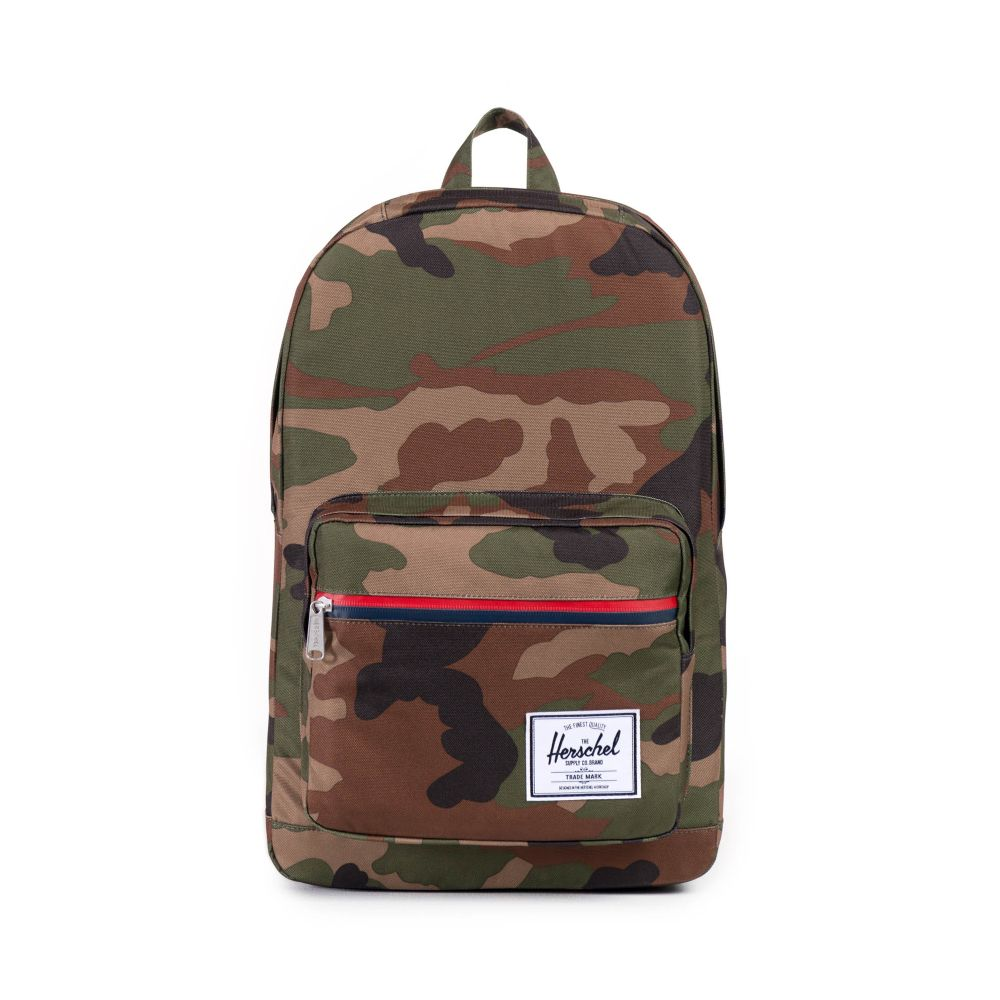 Pop Quiz Backpack Woodland Camo