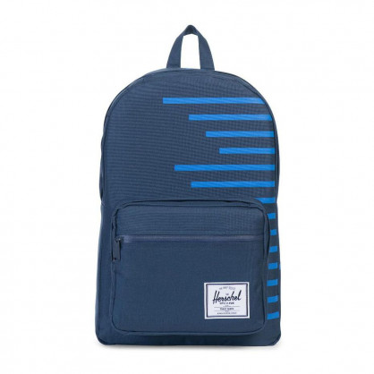 Pop Quiz Backpack Navy Stripe